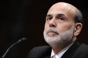 Federal Reserve Chair in 2009, Ben Bernanke