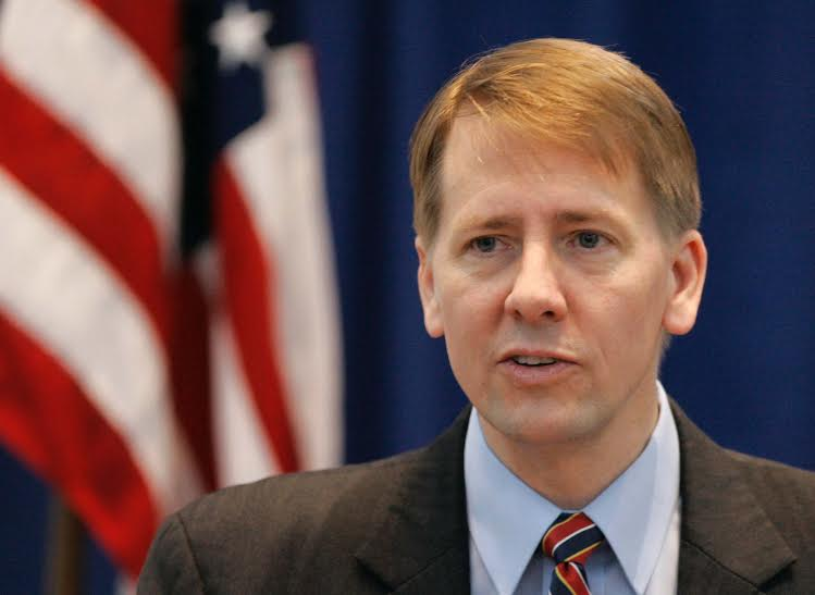 **FILE**File photo of Ohio's Attorney General Richard Cordray from Jan. 8, 2009 during his swearing-in ceremony in Columbus, Ohio. Ohio's appeal process for inmates sentenced to death is still too long and sometimes defeats the possibility of justice being done, Cordray told The Associated Press on Wednesday, April 1, 2009 (AP Photo/Kiichiro Sato)