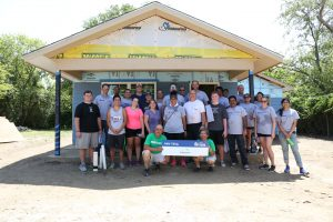 Habitat Dallas Build - Altisource - July 22 2017 End of Day