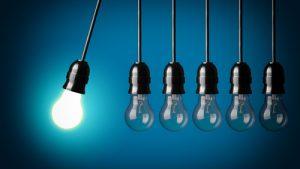Innovation, lightbulb