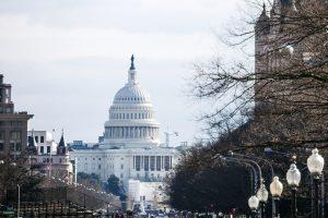 Capitol view, Washington DC.