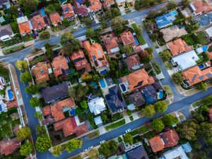 suburb, houses, neighborhood, residential